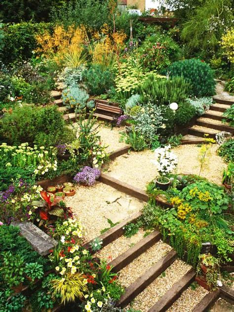 Sloping Garden Design Ideas 20 Sloped Backyard Design Ideas