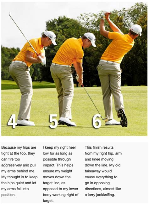 hip turn golf swing how danny willett matched his swing to his physical