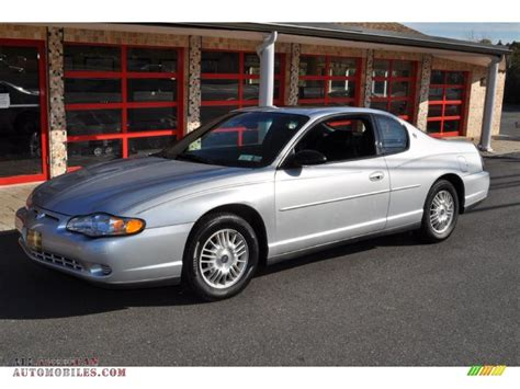 Black And Silver Ls by 2001 Chevrolet Monte Carlo Ls In Galaxy Silver Metallic