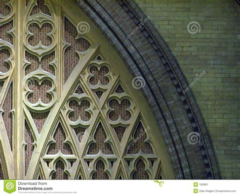 decorative arch stock image image of shapes church