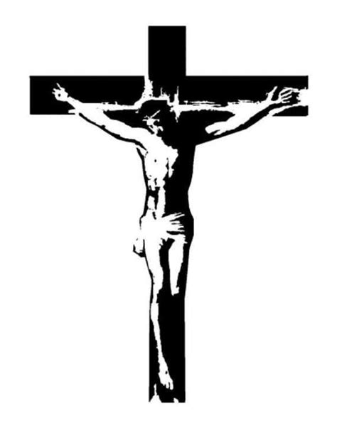 Crucifix Jesus On The Cross St Catholic By Drawing Of Jesus On The Cross 2