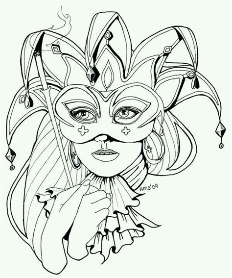 venetian masks coloring book for adults 7 best images about black and white on