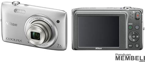 Kamera Nikon Coolpix S3500 5 kamera digital pocket saku termurah dan terbaik 2015