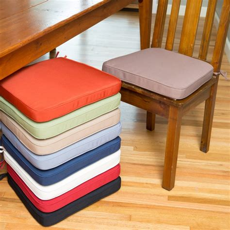 kitchen cool dining chair pads stool cushions with ties