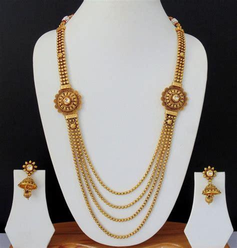 V0 Dress Ethnic necklace kundan indian jewelry ethnic earrings