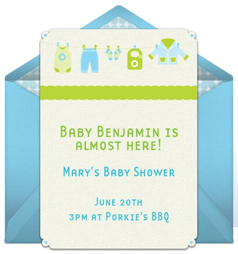 Email Baby Shower Invitation Templates
