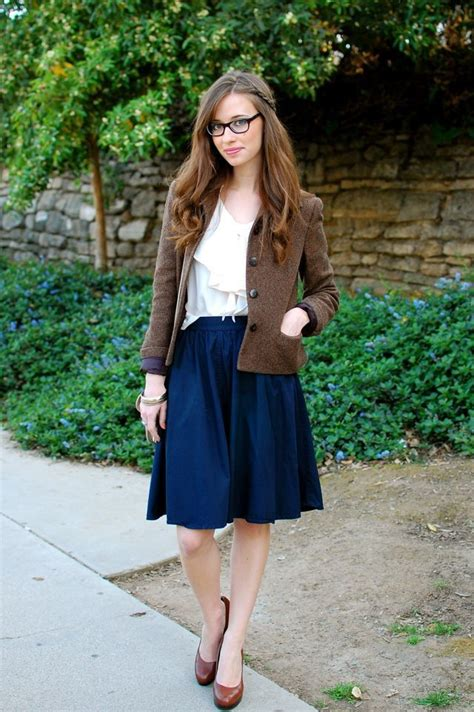 25 best ideas about knee length skirts on