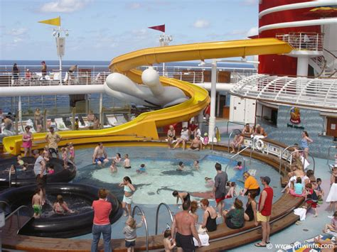 Largest Cruise Ship In The World pools mickey 01