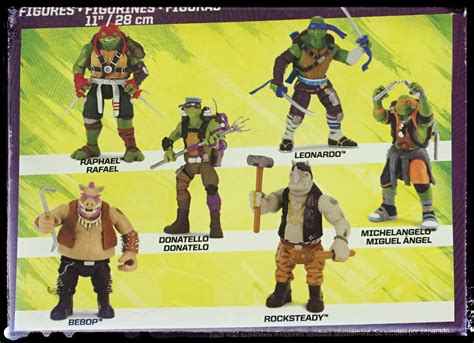 tmnt 2 figures turtles out of the shadows toys 1st look the