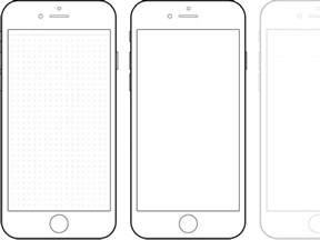 Iphone 6 Template by Mobile Telephone Coloring Page Cerca Amb All