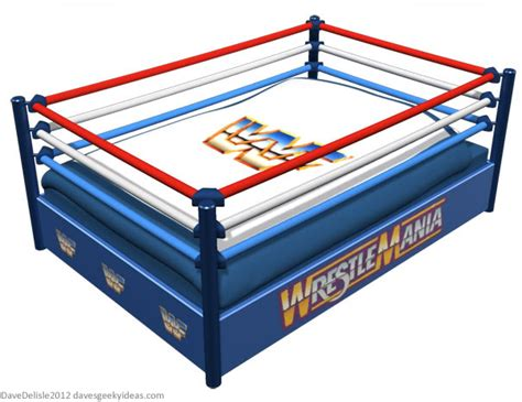wwe couch geeky beds part 2 wrestling ring dave s geeky ideas