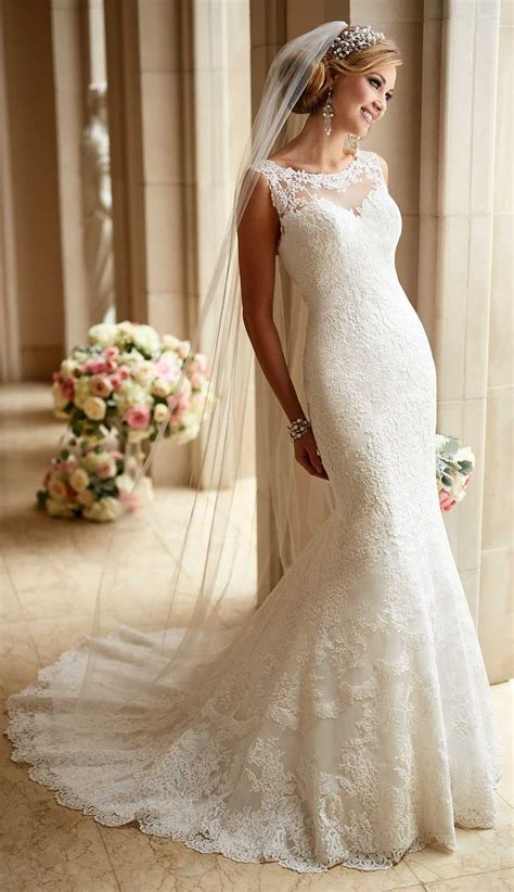 Wedding Dresses Lacy by Best 25 Lacy Wedding Dresses Ideas On Vintage