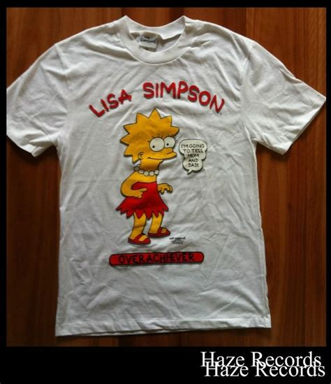 The Simpsons Graphic 16 the simpsons overachiever graphic 1997