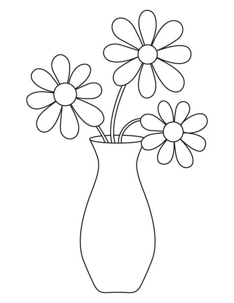 coloring pages of flowers in a vase 52 best images about coloring pages on