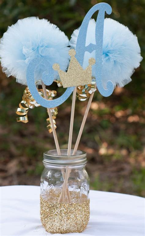 25 best ideas about baby boy centerpieces on