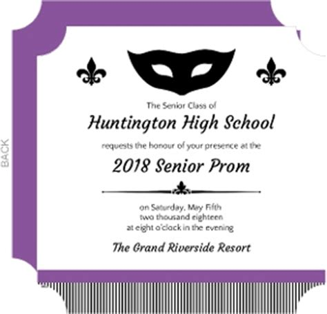 Letter For Js Prom Prom Invitations Prom Invites