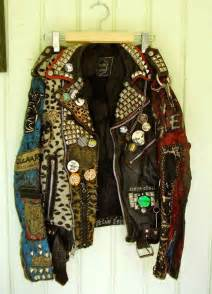 rock leather jacket this was me as a punkrock