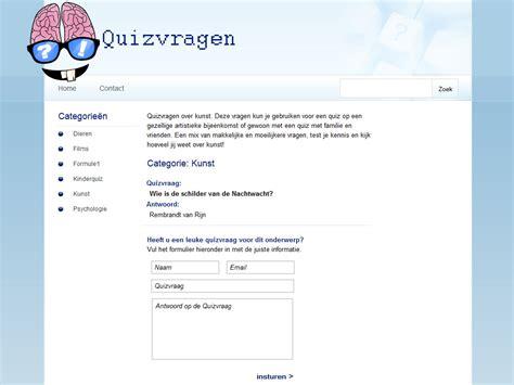 Home Design Online quizvragen webcreationz
