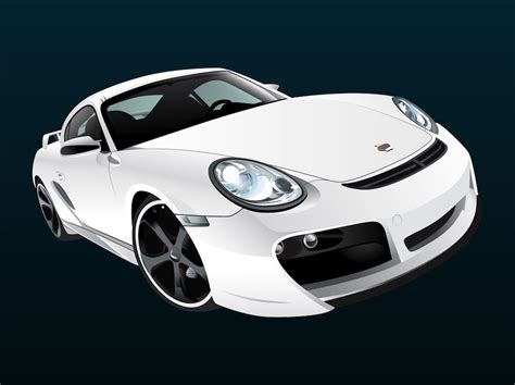 porsche vector white porsche vector graphics freevector com