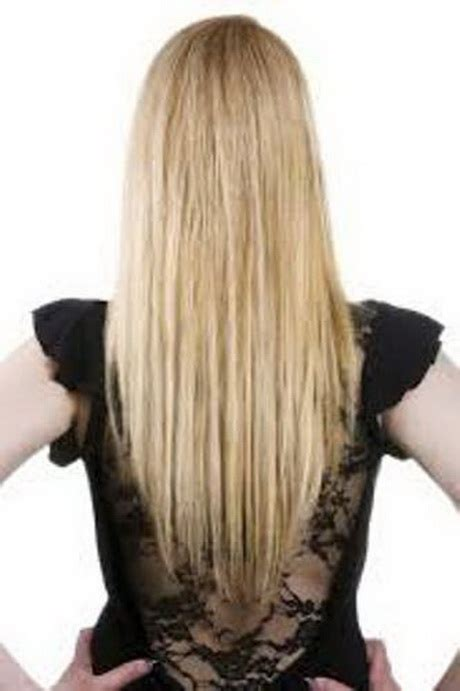 long layers in front straight in the back long layered haircuts back view