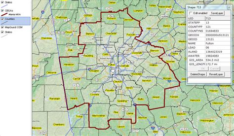 city of atlanta zip code map map of atlanta metro area world map 07
