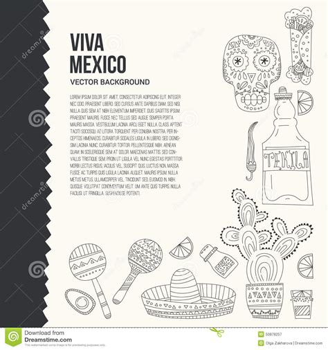 Mexican Id Card Template by Mexico Card Template Stock Vector Image 50878257