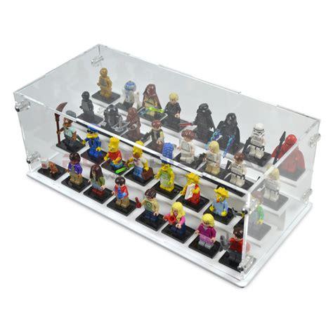 Display Box Lego White lego minifigures display 32