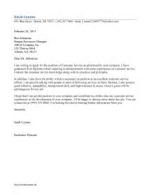 cover letter sles for customer service customer service cover letter template free microsoft