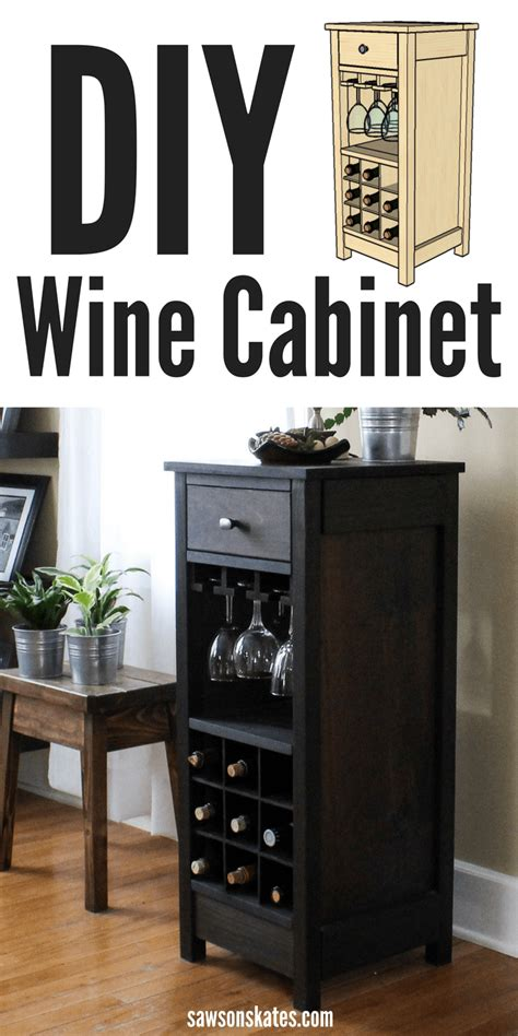 how to build a wine cabinet diy wine cabinet displays entertaining essentials