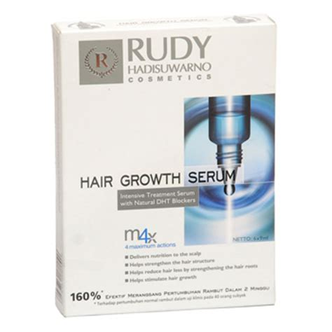 Serum Rudy rudy hair growth serum 6x9ml grimci