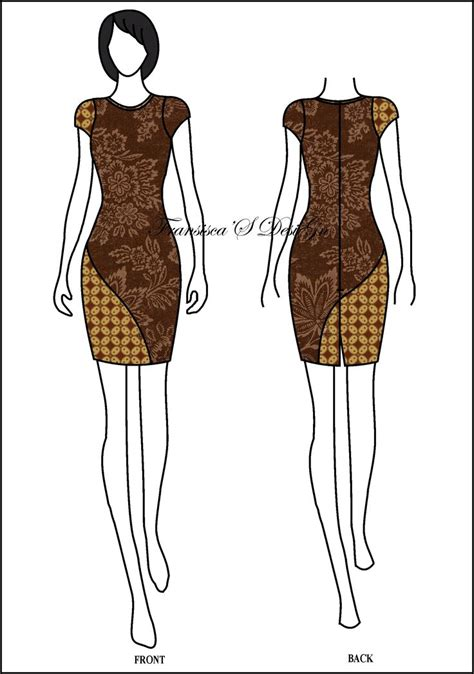 Es Span Dress 17 best ideas about modern batik dress on