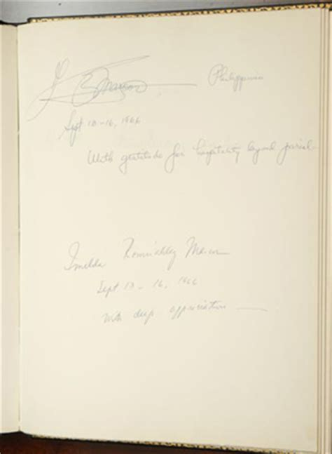 house guest book presidents at the blair house philippines on