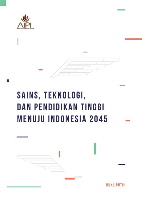 white paper science technology  higher education  indonesia