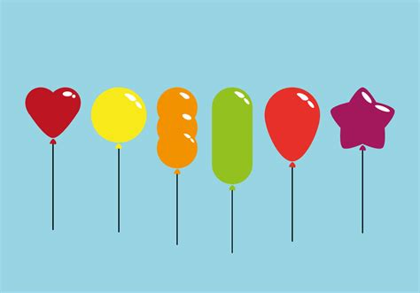 Colorful balloon vectors download free vector art stock graphics amp images