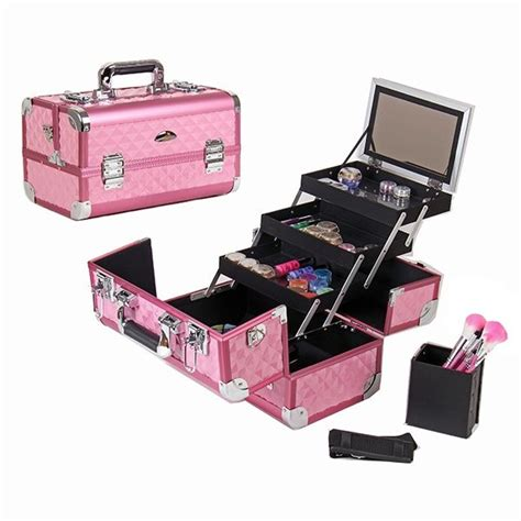 rangement vernis 3456 pink makeup makeup organization