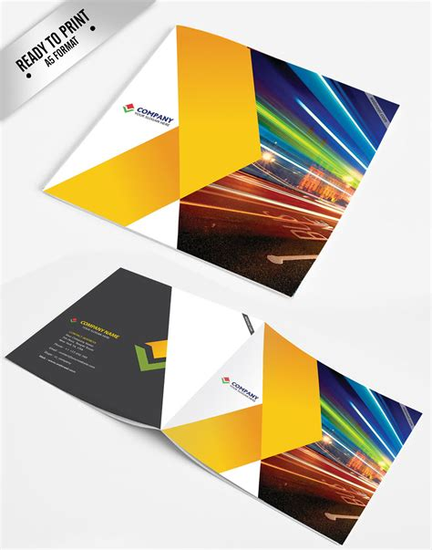 17 corporate brochure design template freedownload