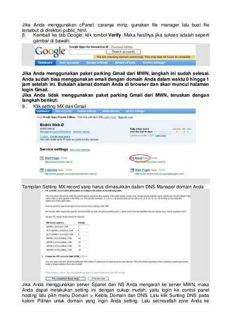 membuat email sendiri di google tutorial membuat email dengan domain sendiri di google apps