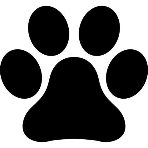 animal paw print free animals icons