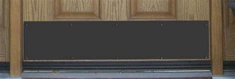 Kick Plates For Interior Doors Door Kickplates Accessorize Your Front Door While Increasing Its Durability With A Kick Plate