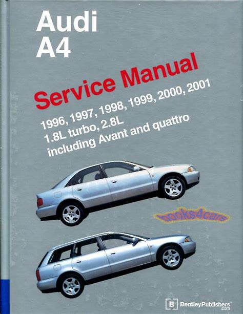 service and repair manuals 1997 audi a6 on board diagnostic system shop manual a4 service repair audi bentley book quattro vant 1 8 2 8l 1996 2001 ebay