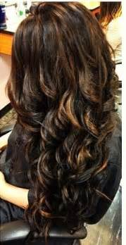 hair color with highlights and lowlights for black 12 flattering dark brown hair with caramel highlights