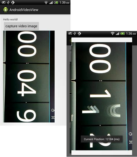android videoview android er get the current frame in videoview using
