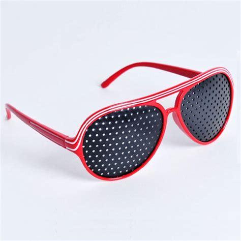 glasses for better vision aviator pinhole glasses for eyesight improve eyeglasses