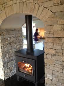 sided wood burning fireplace another two sided freestanding stove to go between the