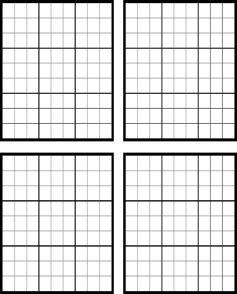 printable sudoku blank download sudoku blank for free formtemplate