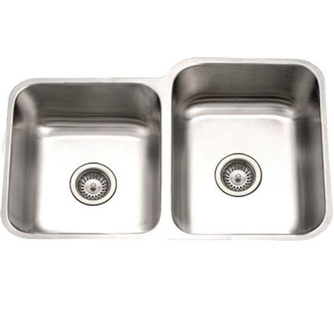 Houzer Eston Series Undermount Stainless Steel 31 In 40 40 Kitchen Sink