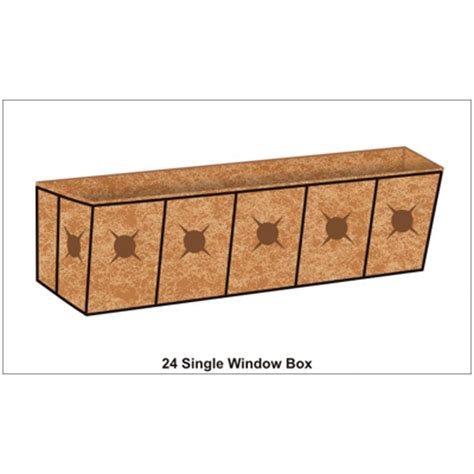 Window Box Planter Liners 24 inch window box planter liner set window box planters kinsman garden