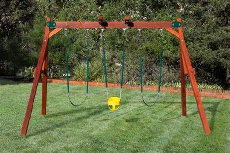 lifetime 10 foot a frame swing set double a frame swing set by west texas swing