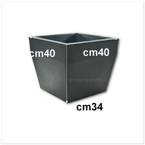 vasi plastica prezzi fioriere in plastica aquario quadro cassetta cm40 a cm80