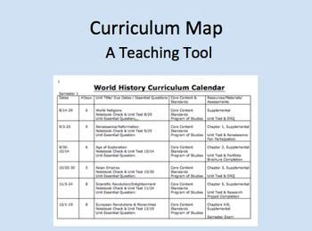 teaching curriculum template 43 best images about curriculum mapping on